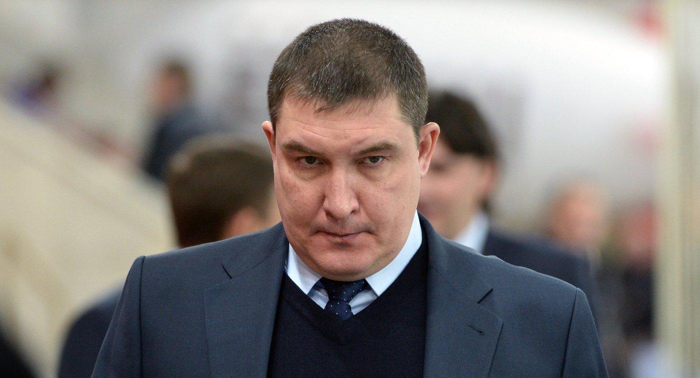 Исполняющий обязанности главного тренера ХК Трактор Анвар Гатиятулин